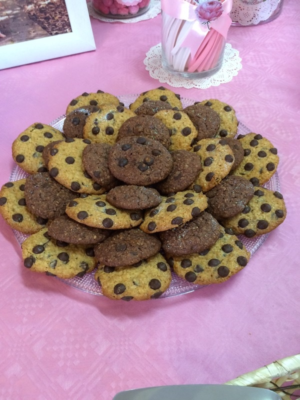 Cookies de Avena con chips de  Chocolate